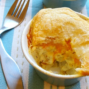 Cheese and Potato Puff Pies