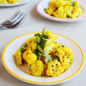 Chilli Lemon Cauliflower