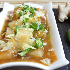 Hello and Hot and Sour Tamarind Cassava