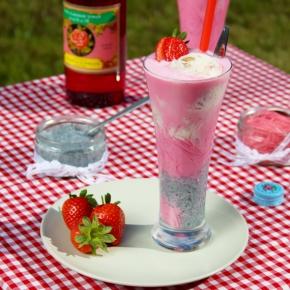 Strawberry Cheesecake Falooda