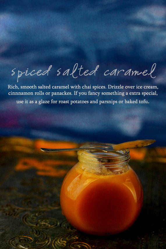 Spiced Salted Caramel