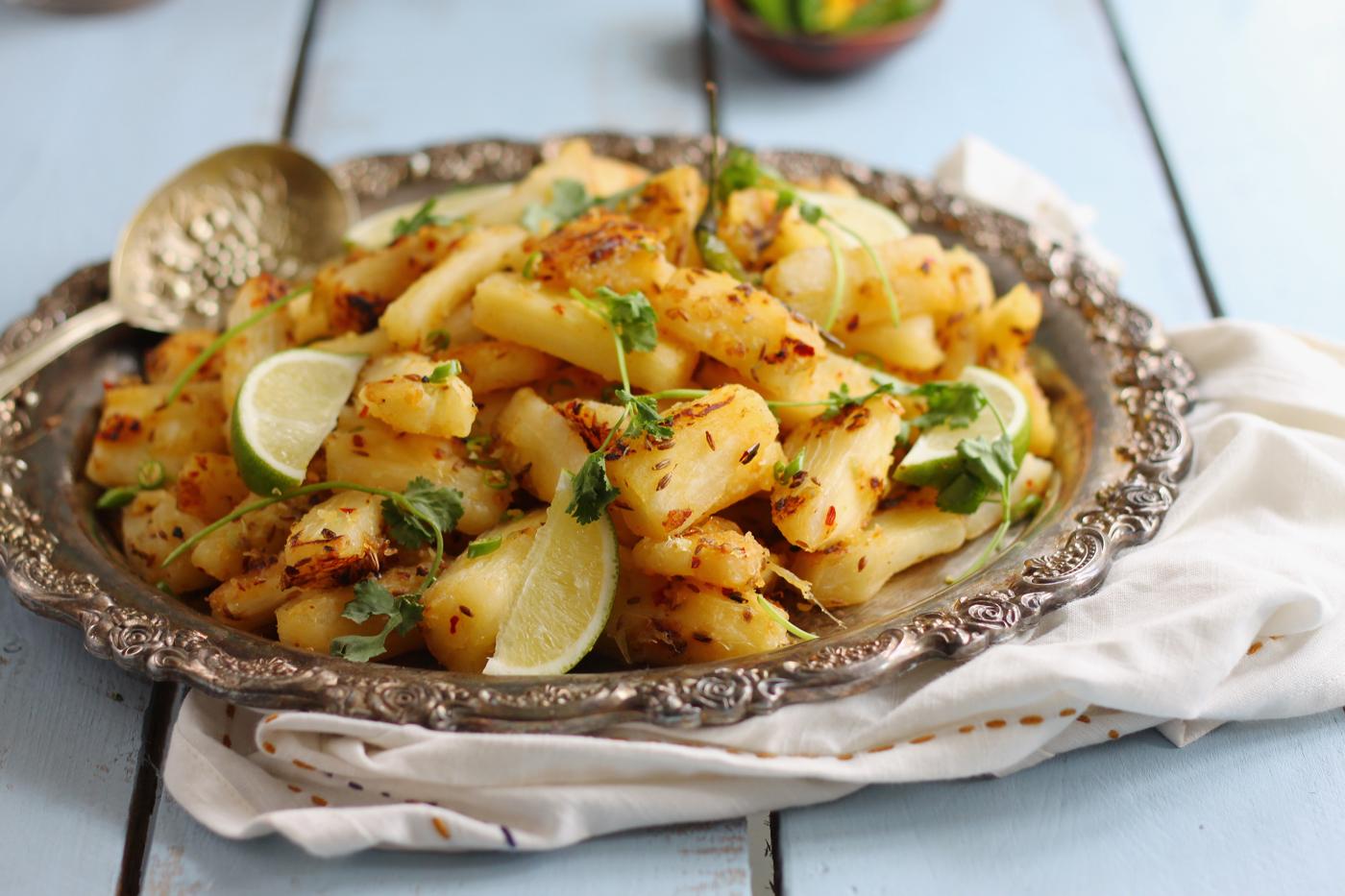 Chilli Lime and Garlic Mogo
