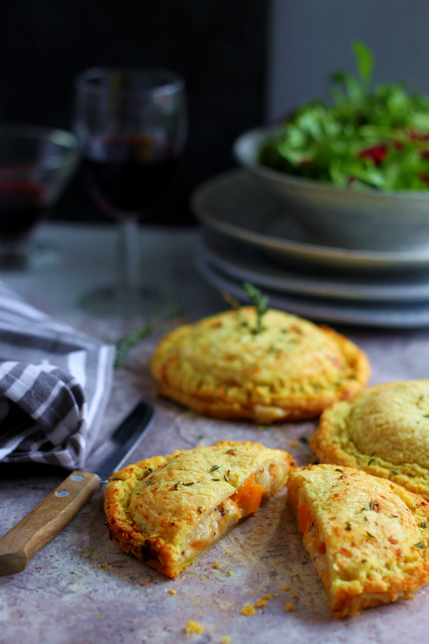Spiced Butternut and Cauliflower Cheese Pithiviers