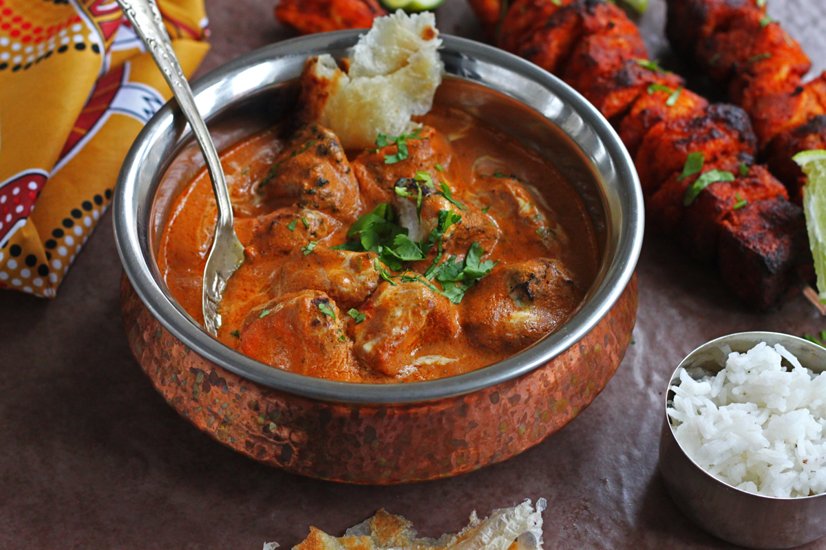 Tandoori Tofu Tikka Masala (Vegan)
