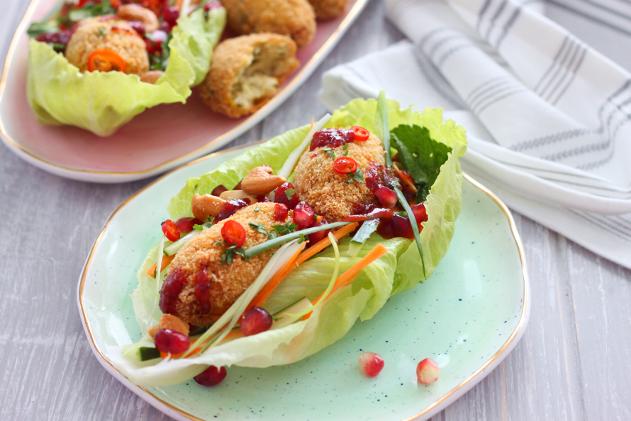 Dhai Ke Kebab Lettuce Wraps