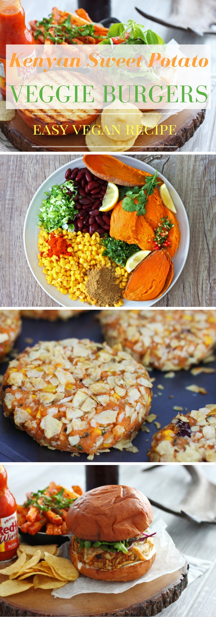 An easy vegan recipe for the most delicious veggie burgers ever.
