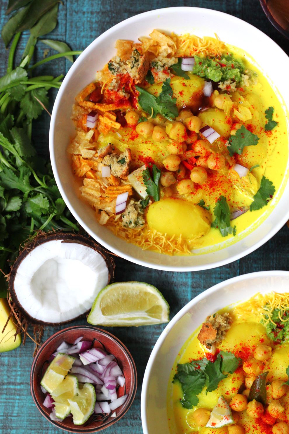 20-Minute Channa Bateta (Kenyan Chickpeas and Potatoes in Coconut Broth)