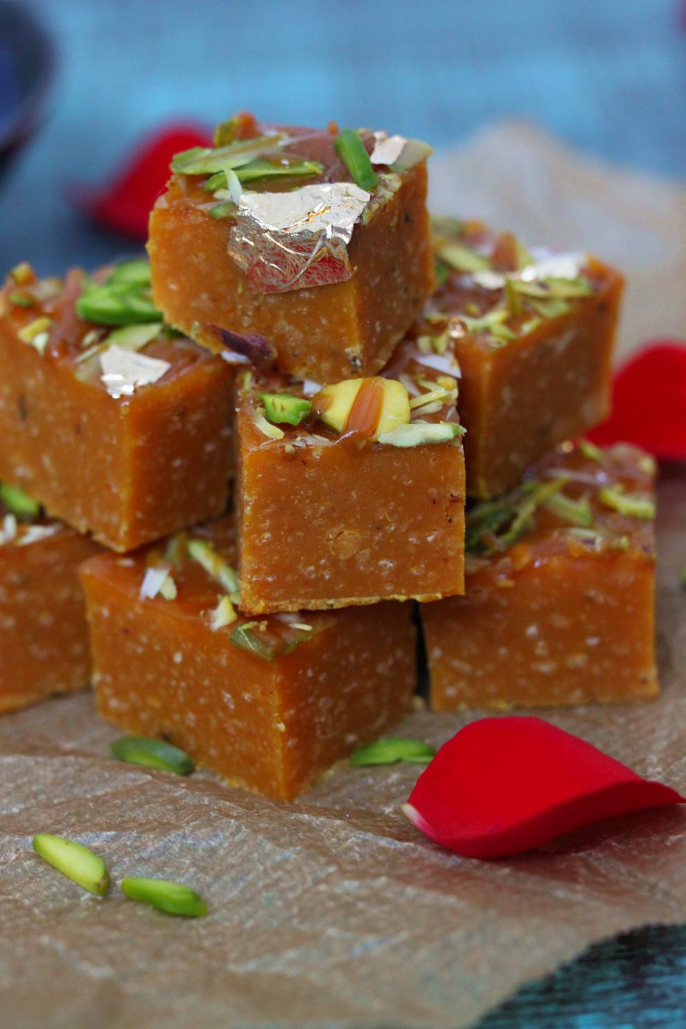 Salted Caramel Mohanthal