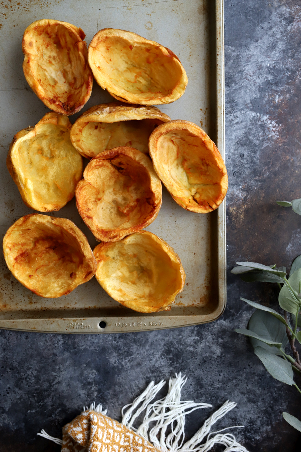 Crispy Aloo Chaat Potato Skins
