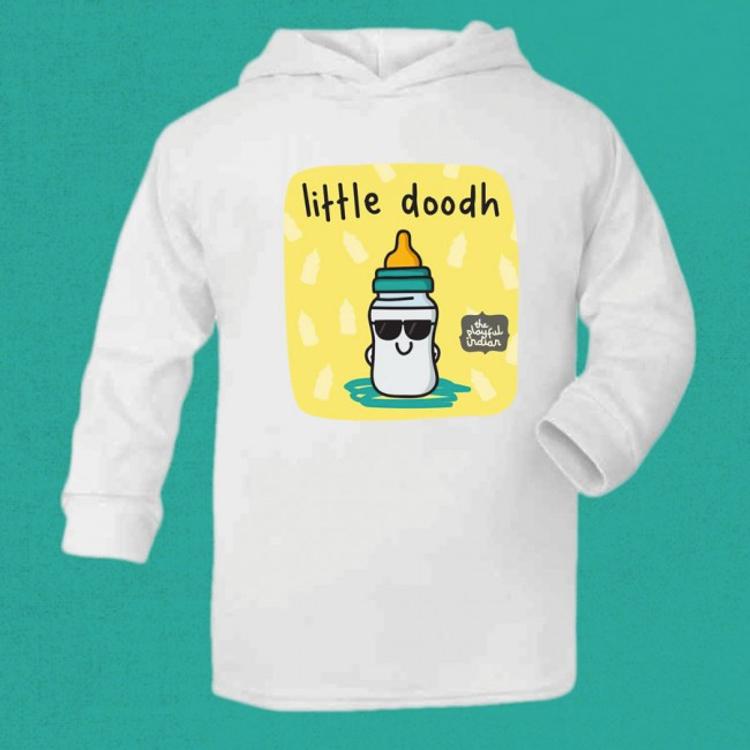 little doodh hoodie