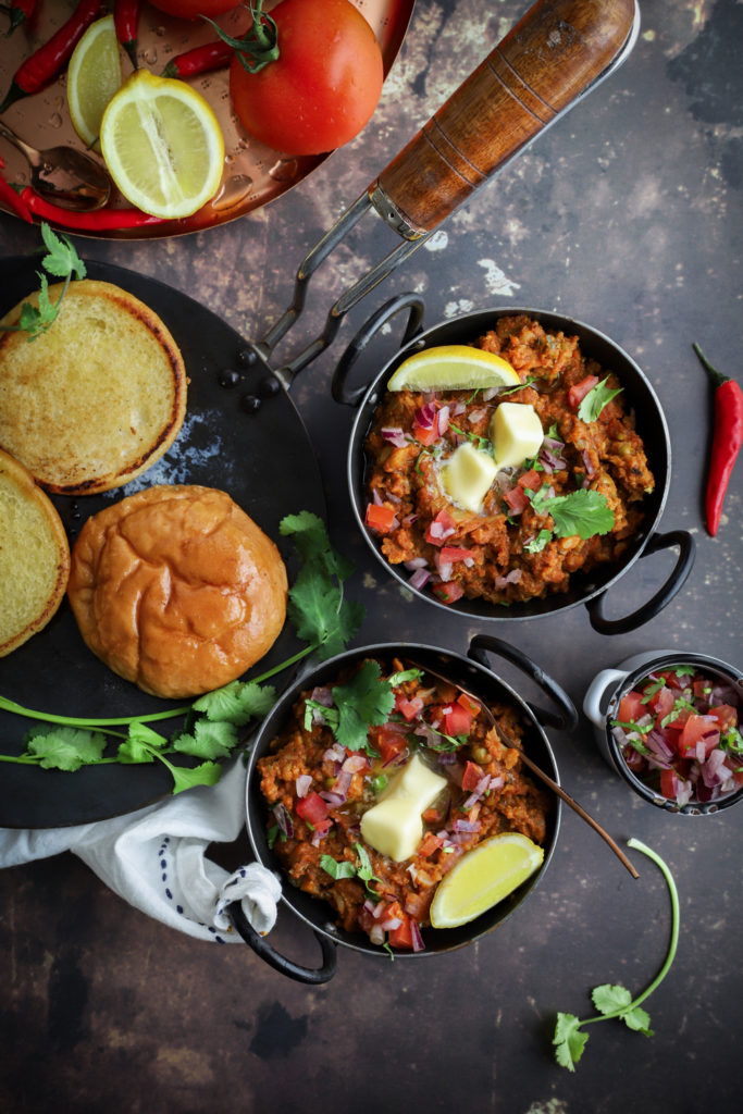 Melt-in-the-Mouth Butter Pau Bhaji
