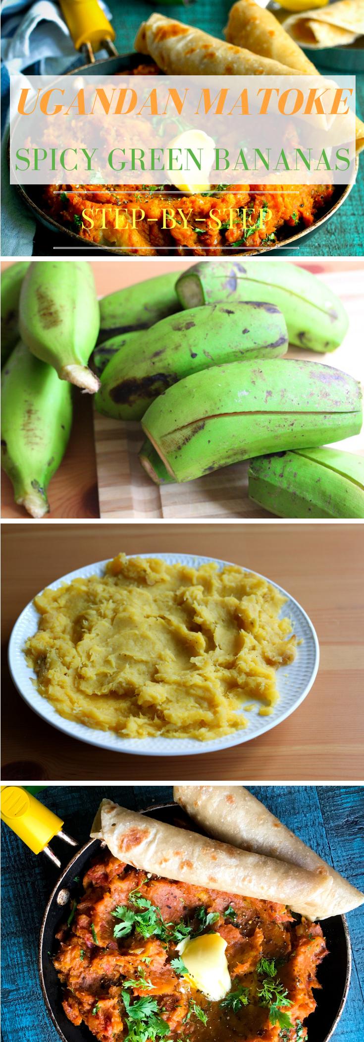 Ugandan Matoke (Spicy Green Banana Mash)