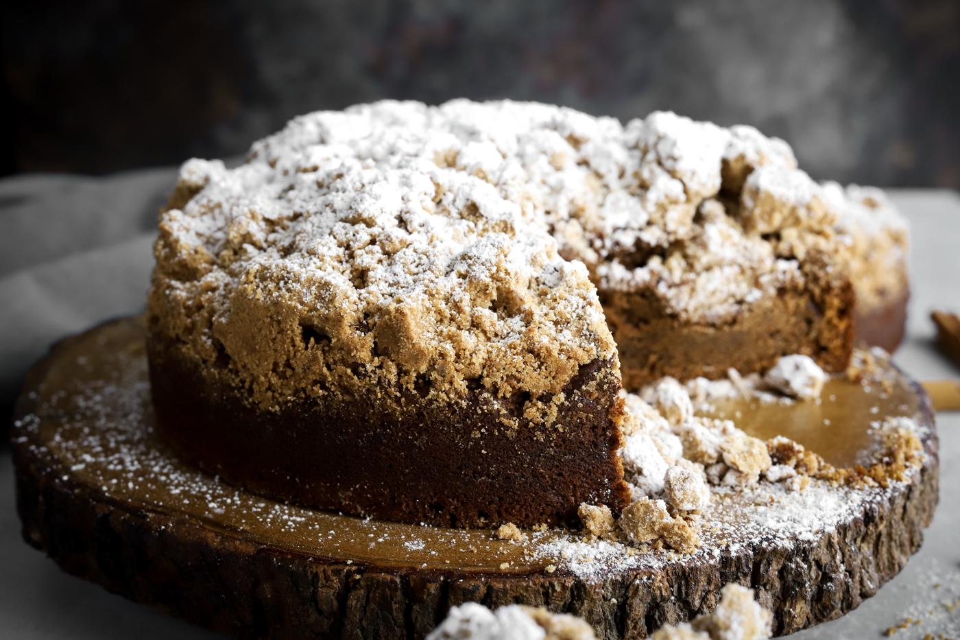 Vegan Masala Coffee Crumb Cake