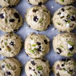Vegan Pistachio & Vanilla Salt Chocolate Chip Cookies 4