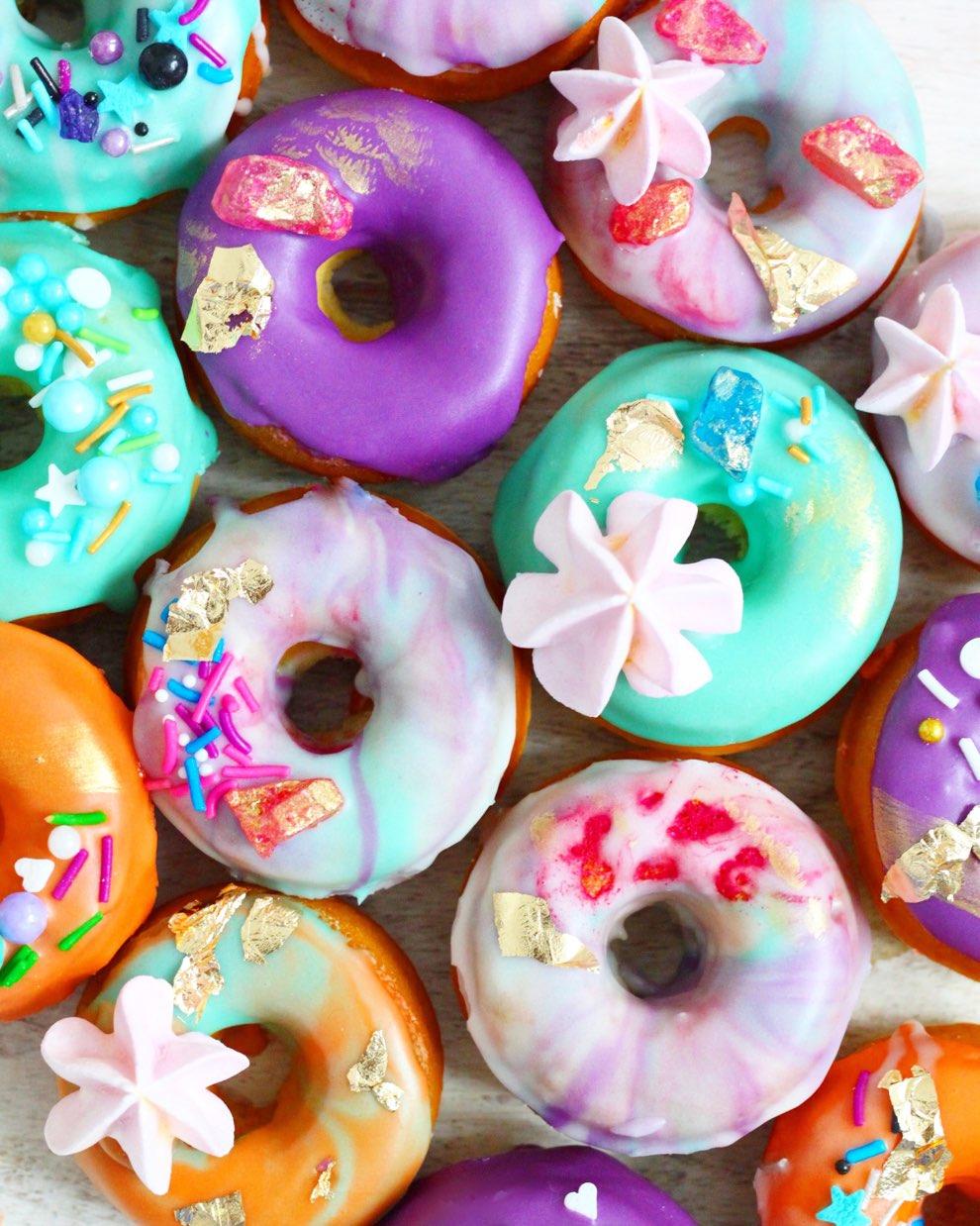 The Best Baked Vegan Vanilla Doughnuts