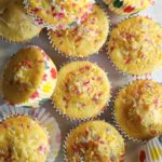 Vegan Custard Powder Fairy Cakes