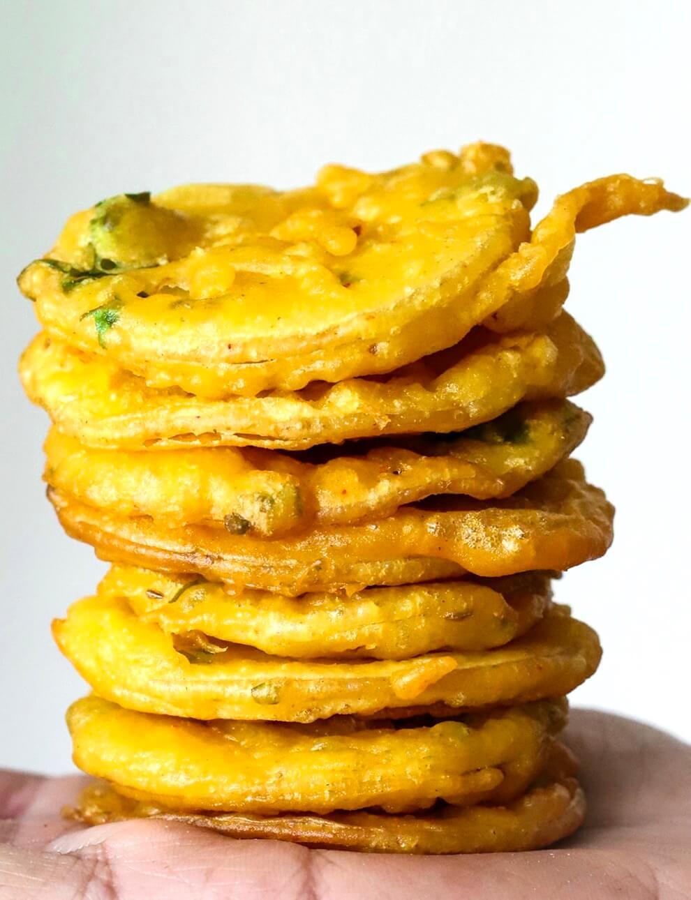 Crispy Potato Bhajias