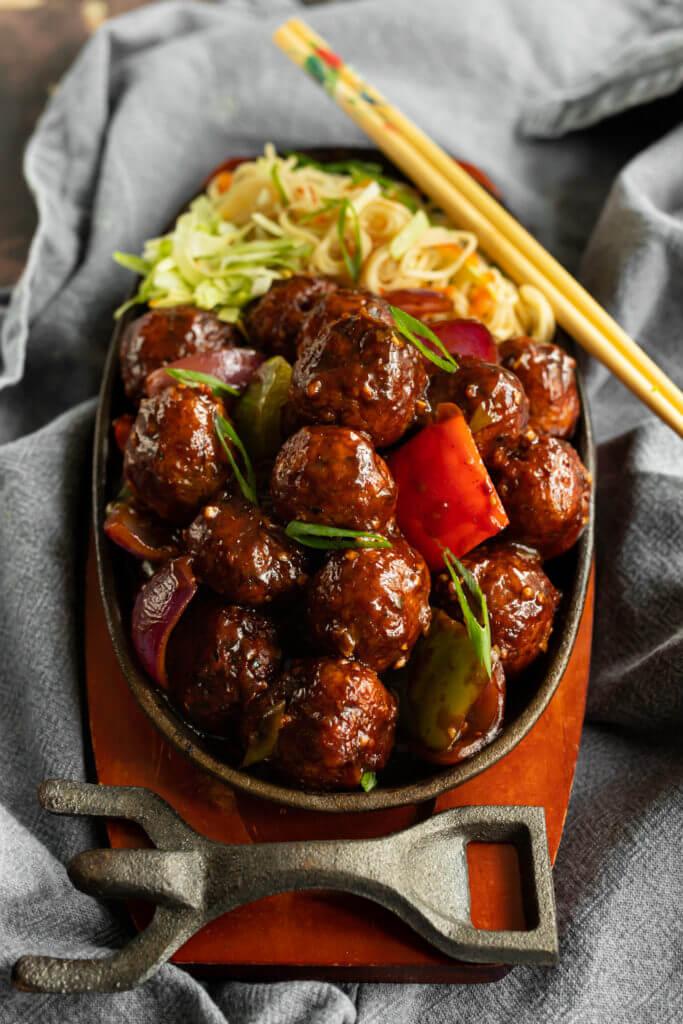 Vegetable Manchurian recipe
