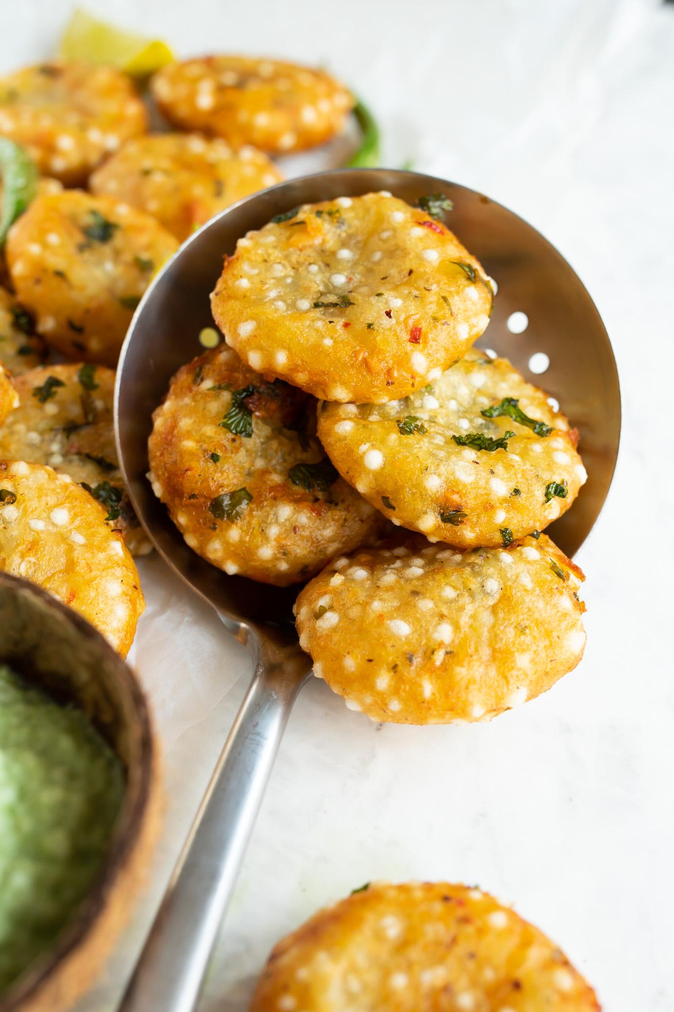 Sabudana Vada - Fritters for fasting recipe
