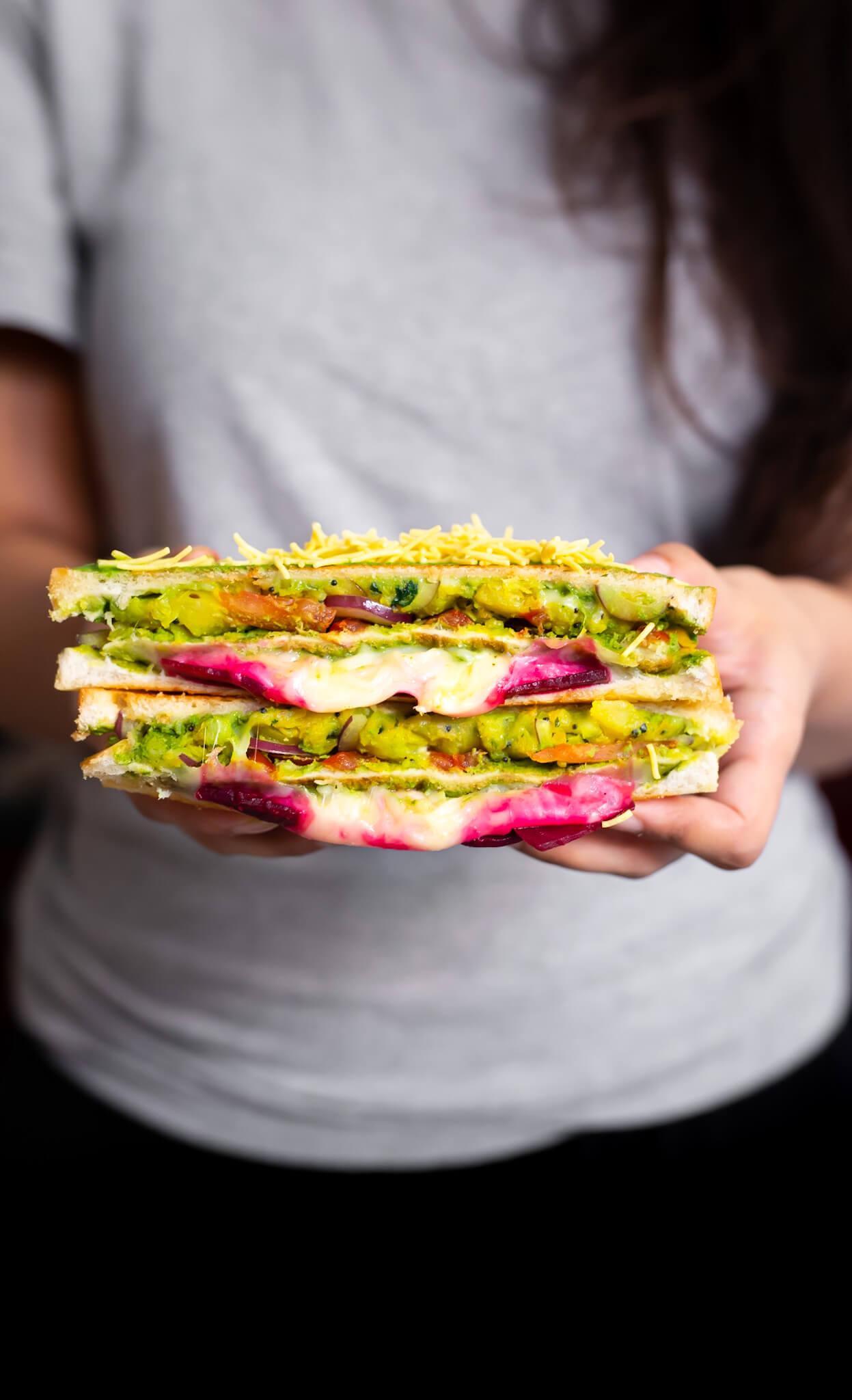 """Mumbai """"Moist Maker"""" Sandwich"""