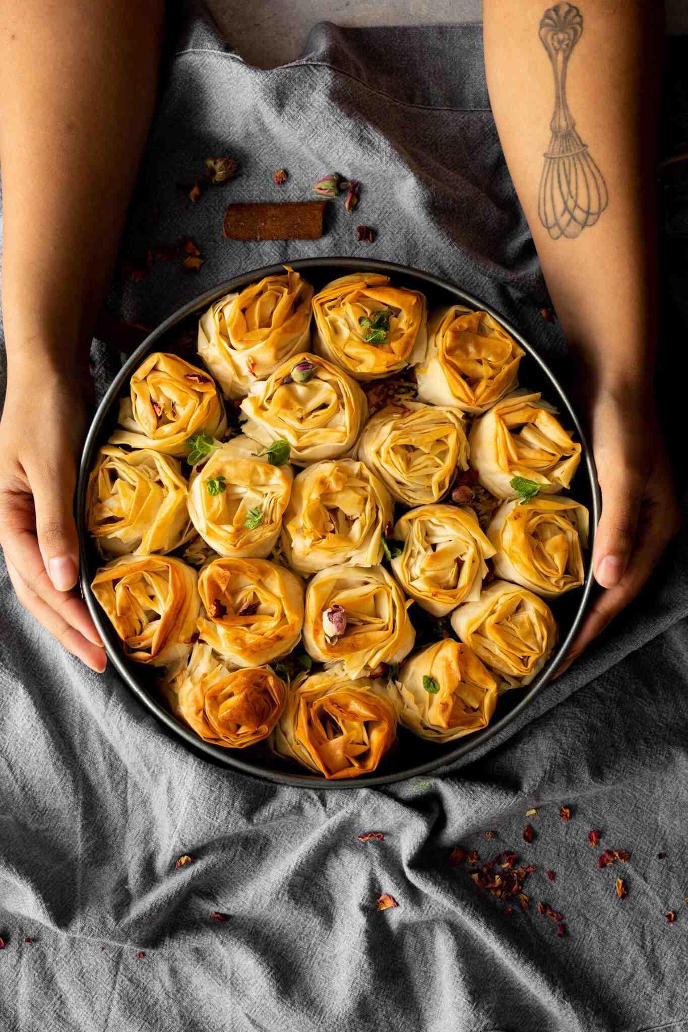 Ruffled Vegetable Biryani
