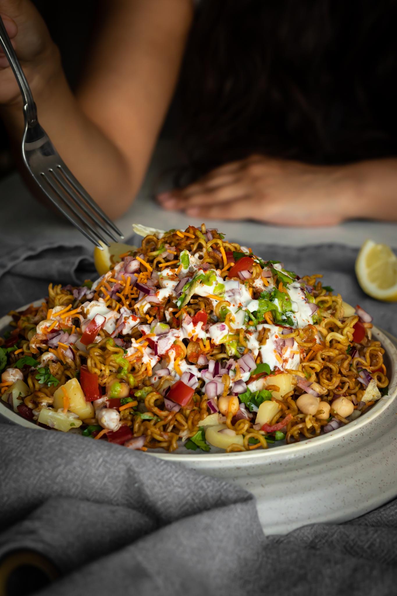 Maggi Noodles Chaat