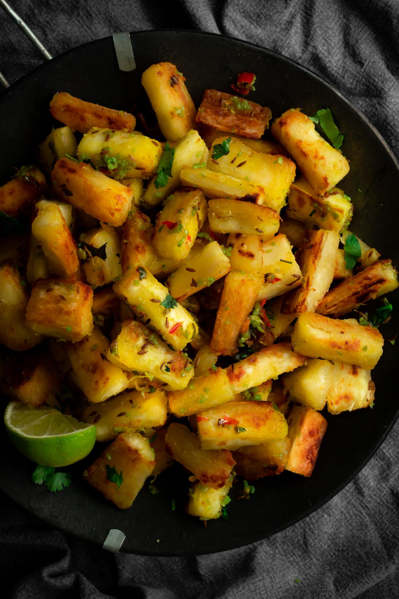 Chilli, Garlic & Lime Mogo