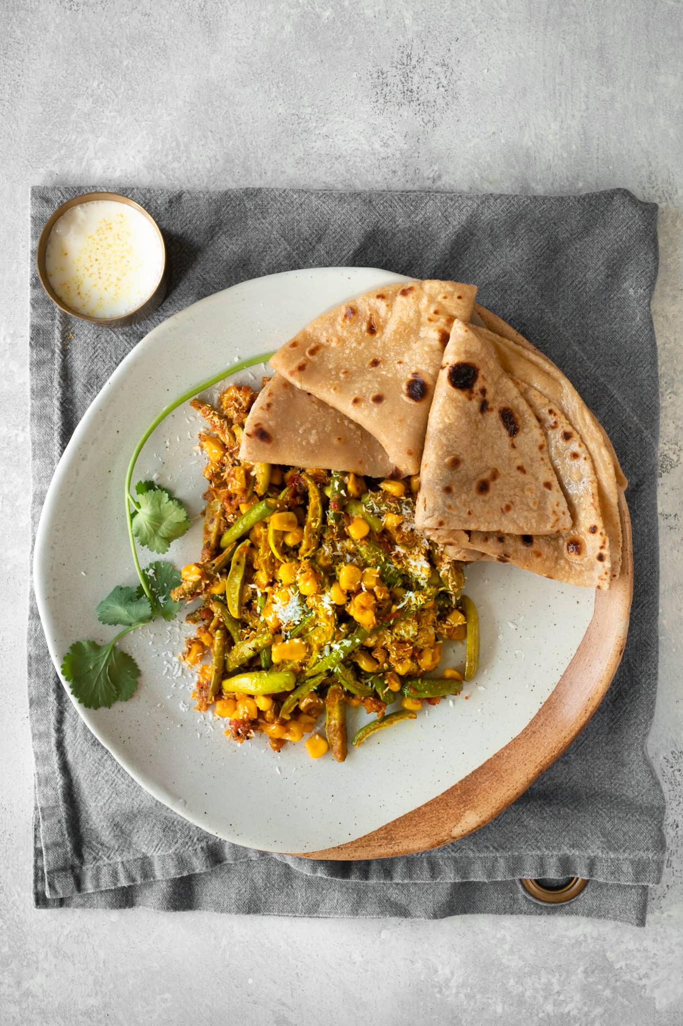 30-Minute Tindora Curry with Corn