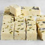How to make plain white burfi