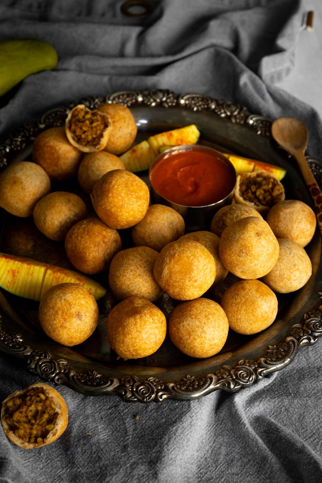 Mombasa-Style Daal Kachori Recipe