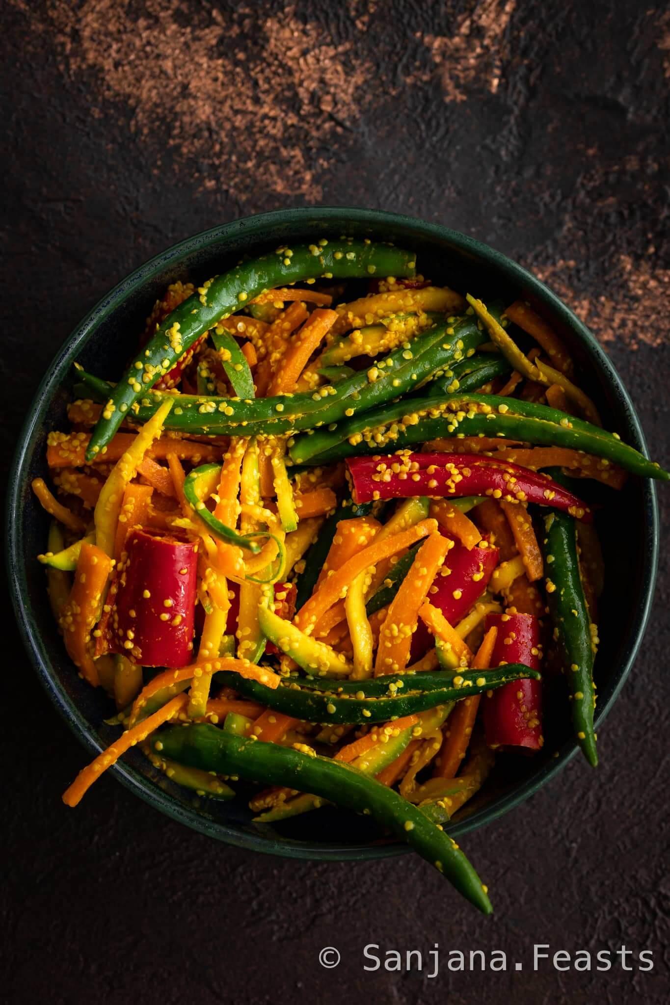 Athela Marcha (Instant Chilli Pickle)