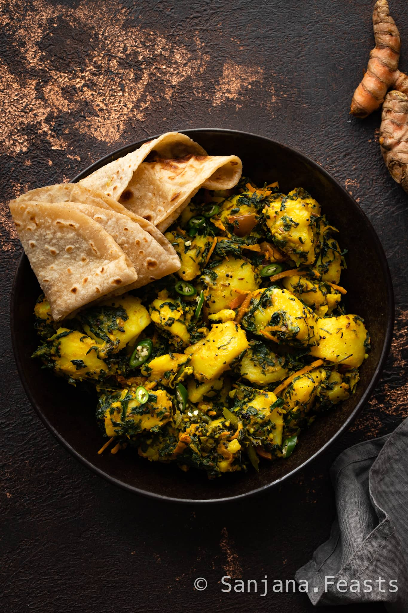 How to make Aloo Methi