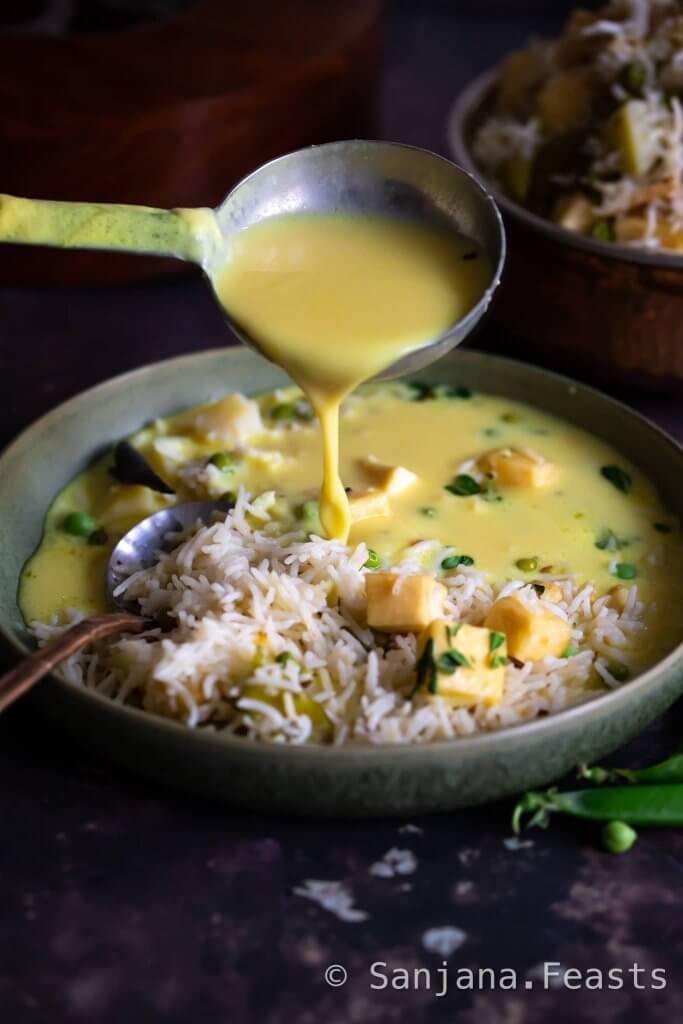 Kadhi rice recipe