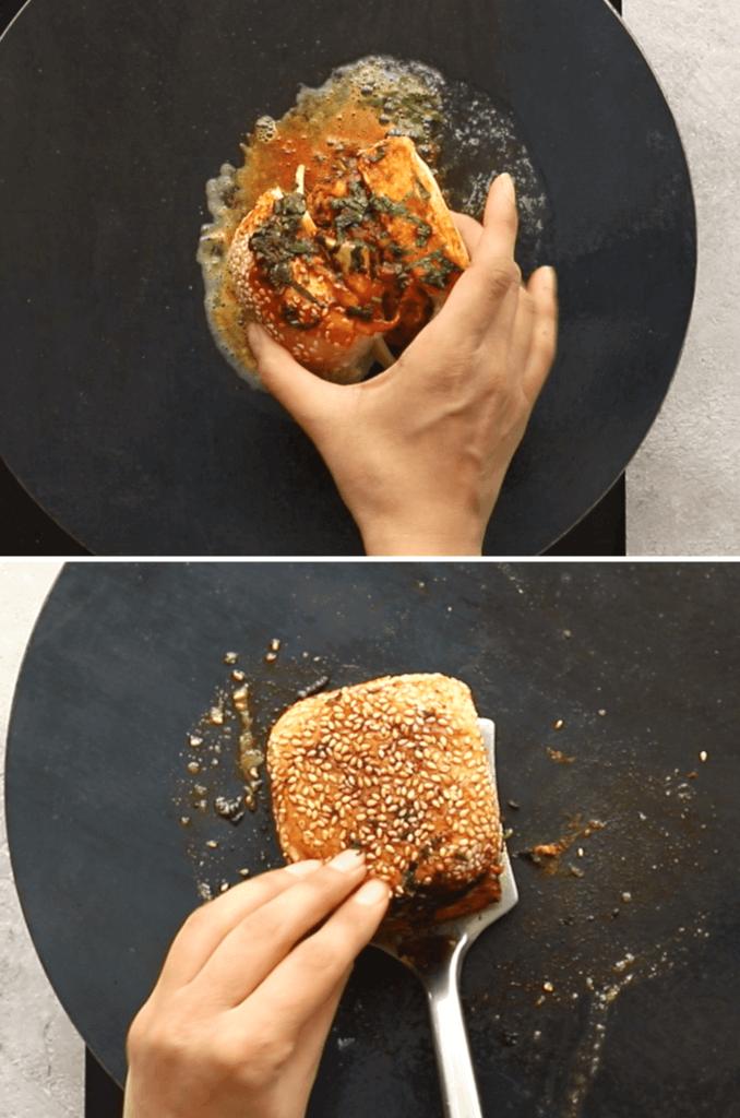 How to cook tawa burger