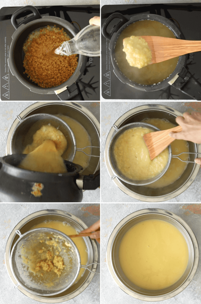 How to cook toor dal