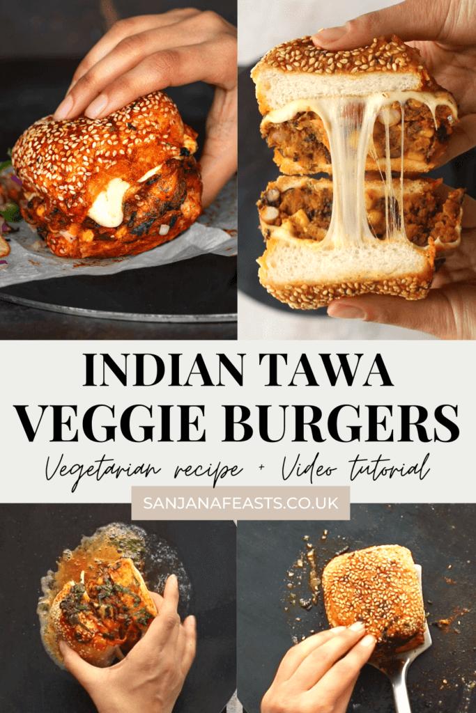 How to make Spicy Bean Tawa Burgers