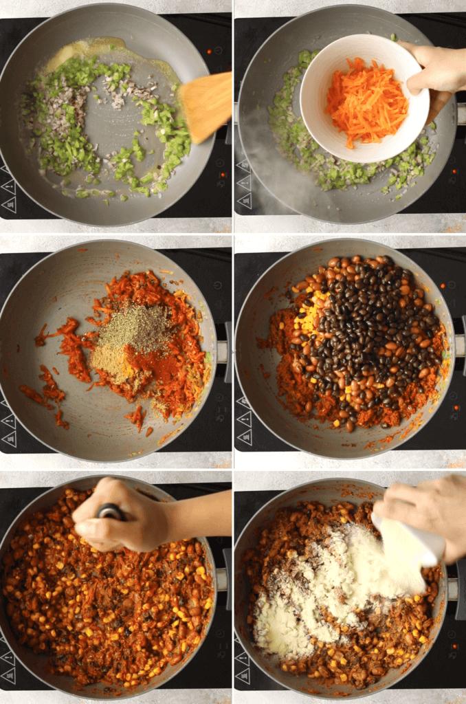 How to make a veggie burger patty