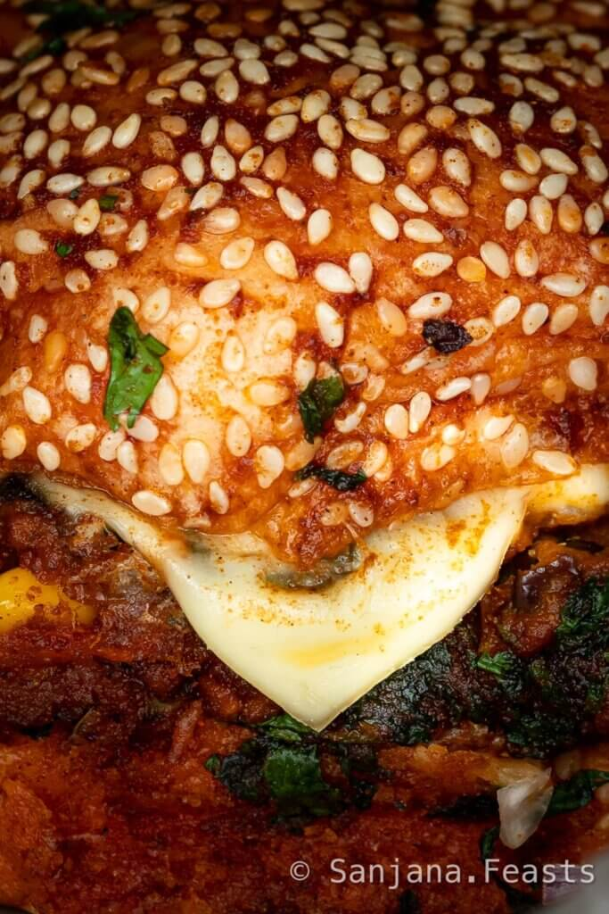 How to make an Indian veggie burger