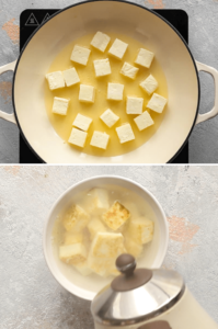 How to make paneer soft with the reverse soak method
