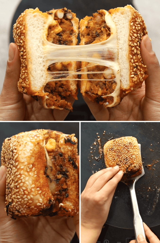 Indian Veggie Burger tutorial