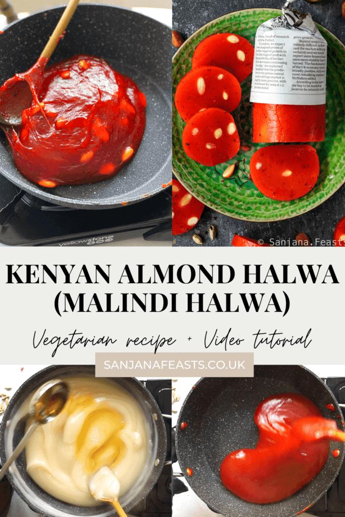 Kenyan Almond Halwa Malindi