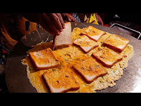 Sandwich omelette india