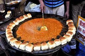 Mumbai pav bhaji vendor