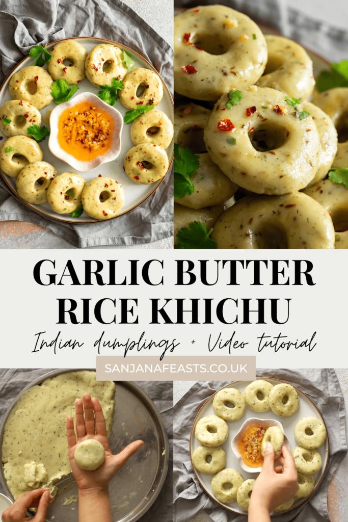 Garlic Butter Khichi recipe from Sanjana Feasts