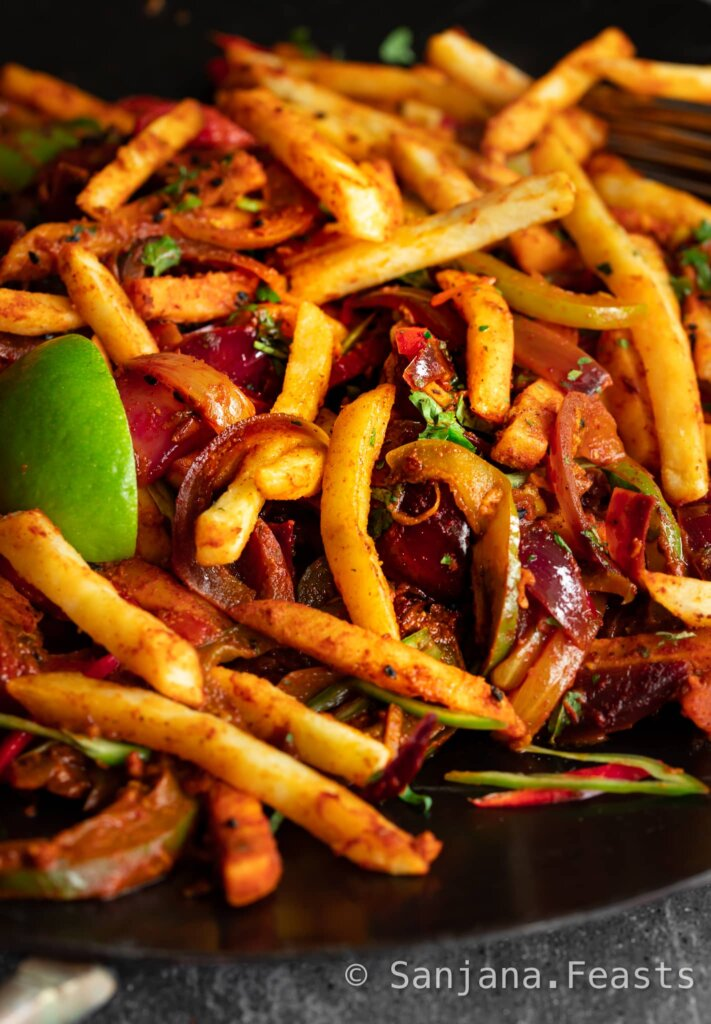 How to make Indian Masala Fries