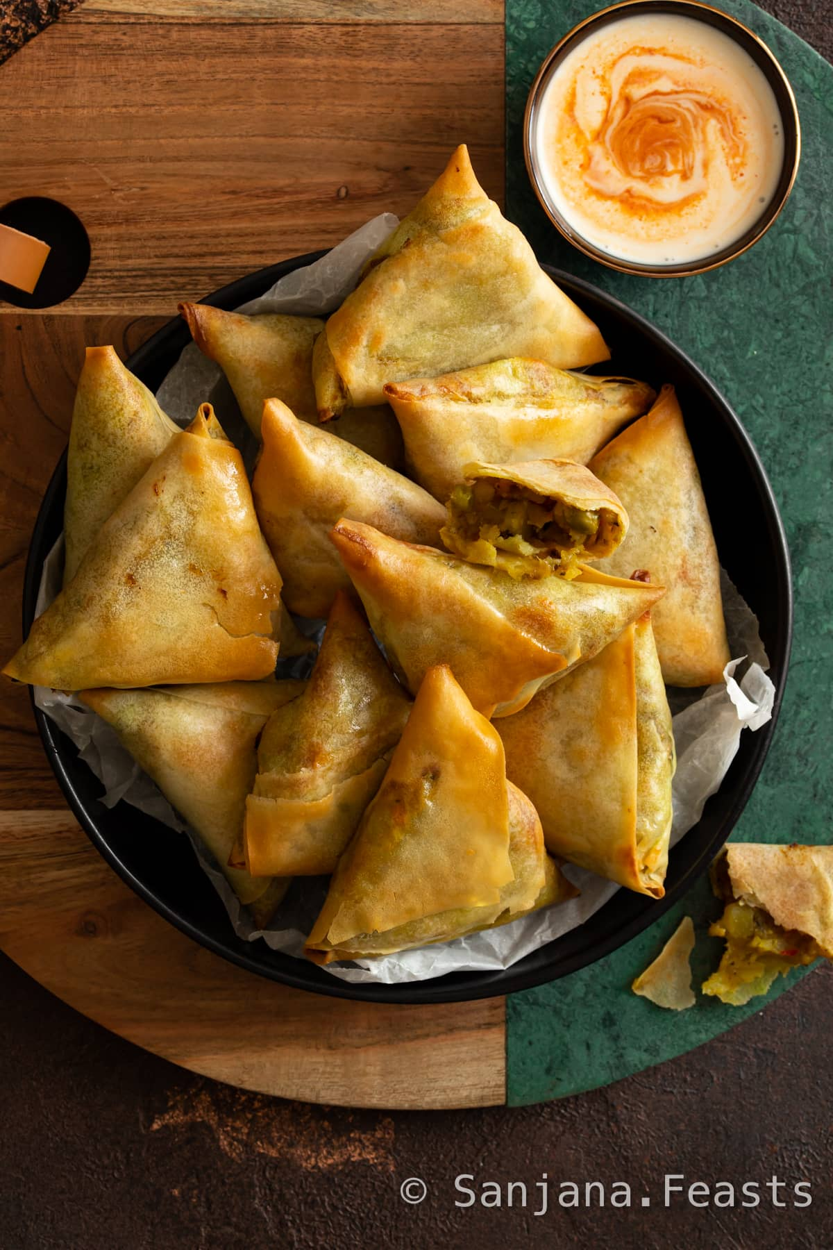 How to cook samosas in air fryer