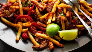 Jalfrezi Fries recipe Sanjana Feasts