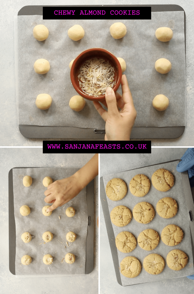 Decorate eggless cookies