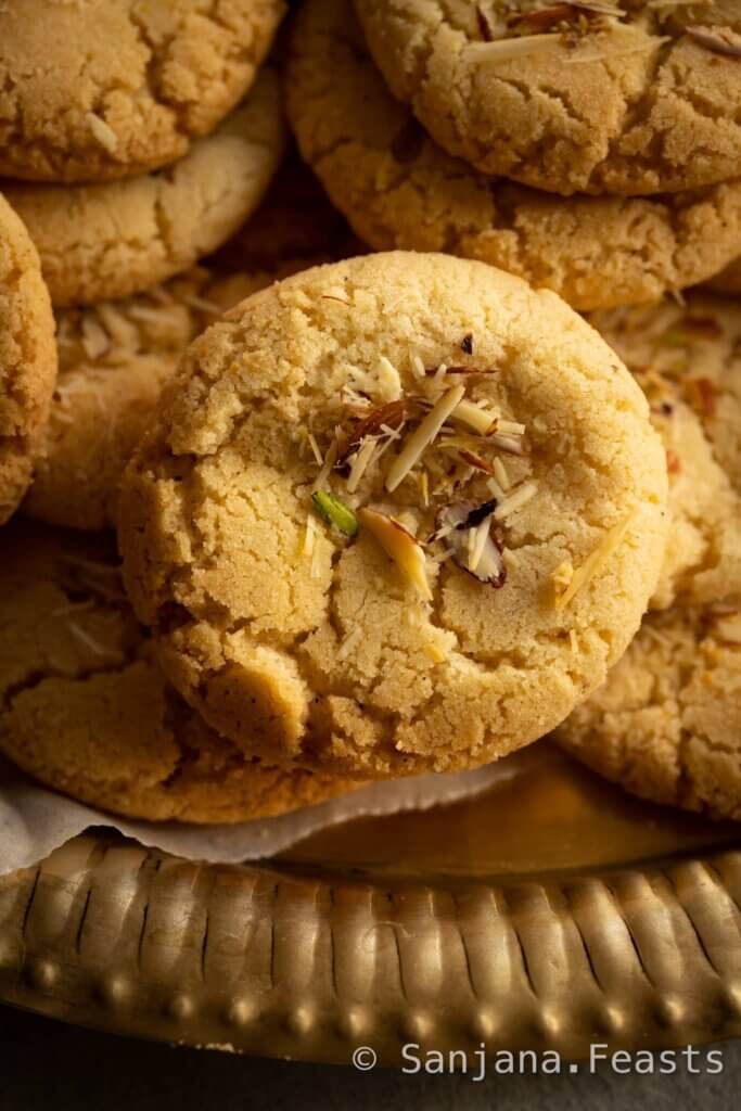 Eggless cookies recipe with Almond