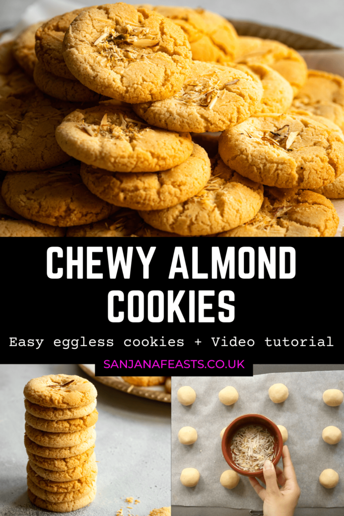 How to make the best Chewy Almond Cookies!